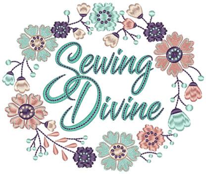 Sewing Divine Machine Embroidery Designs Digital Download Patterns
