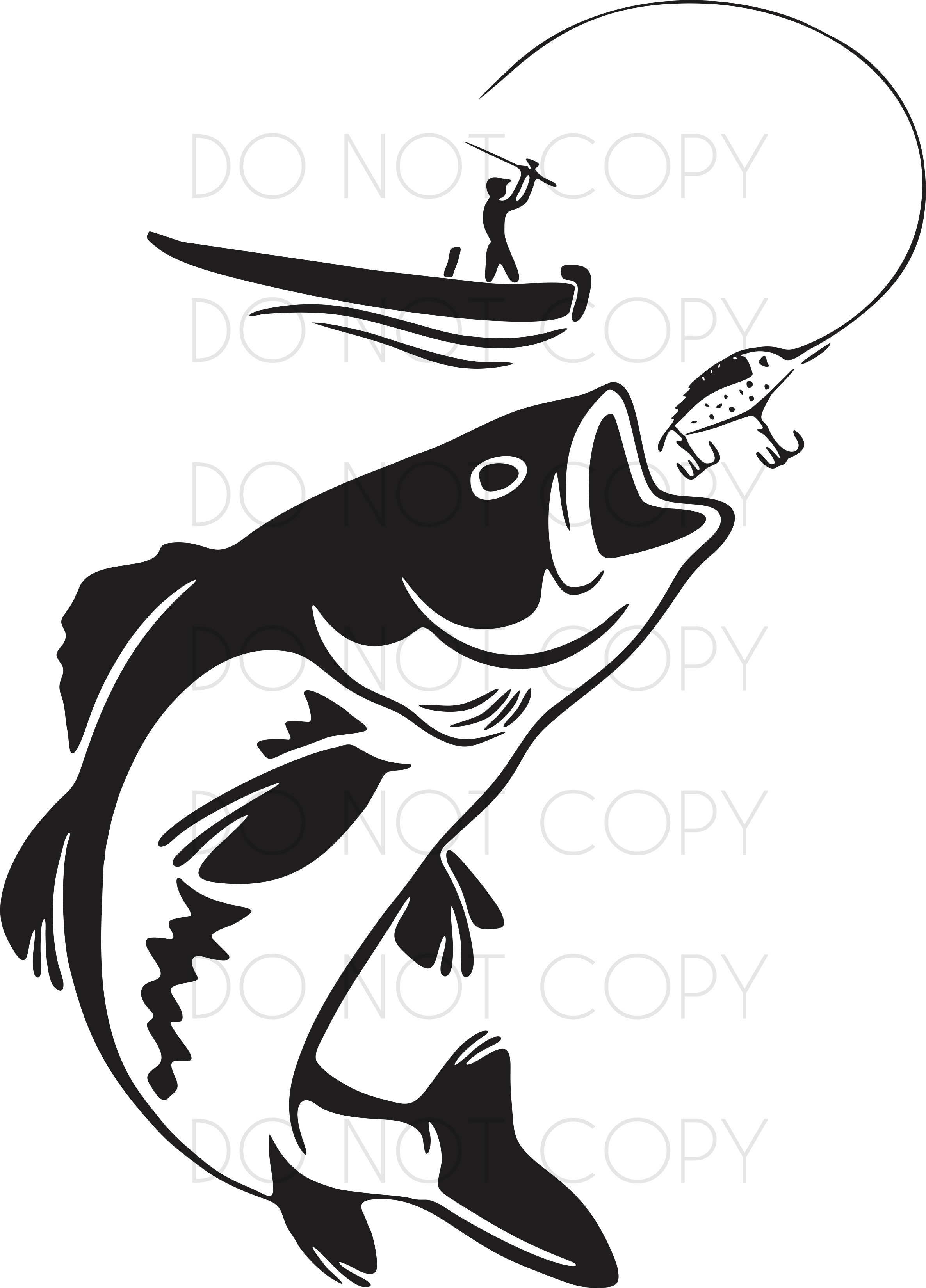 Download Fisherman Catching A Fish Svg Print Design Svg Dxf Print Instant Download Digital File For Cricut Silhouette And Printers