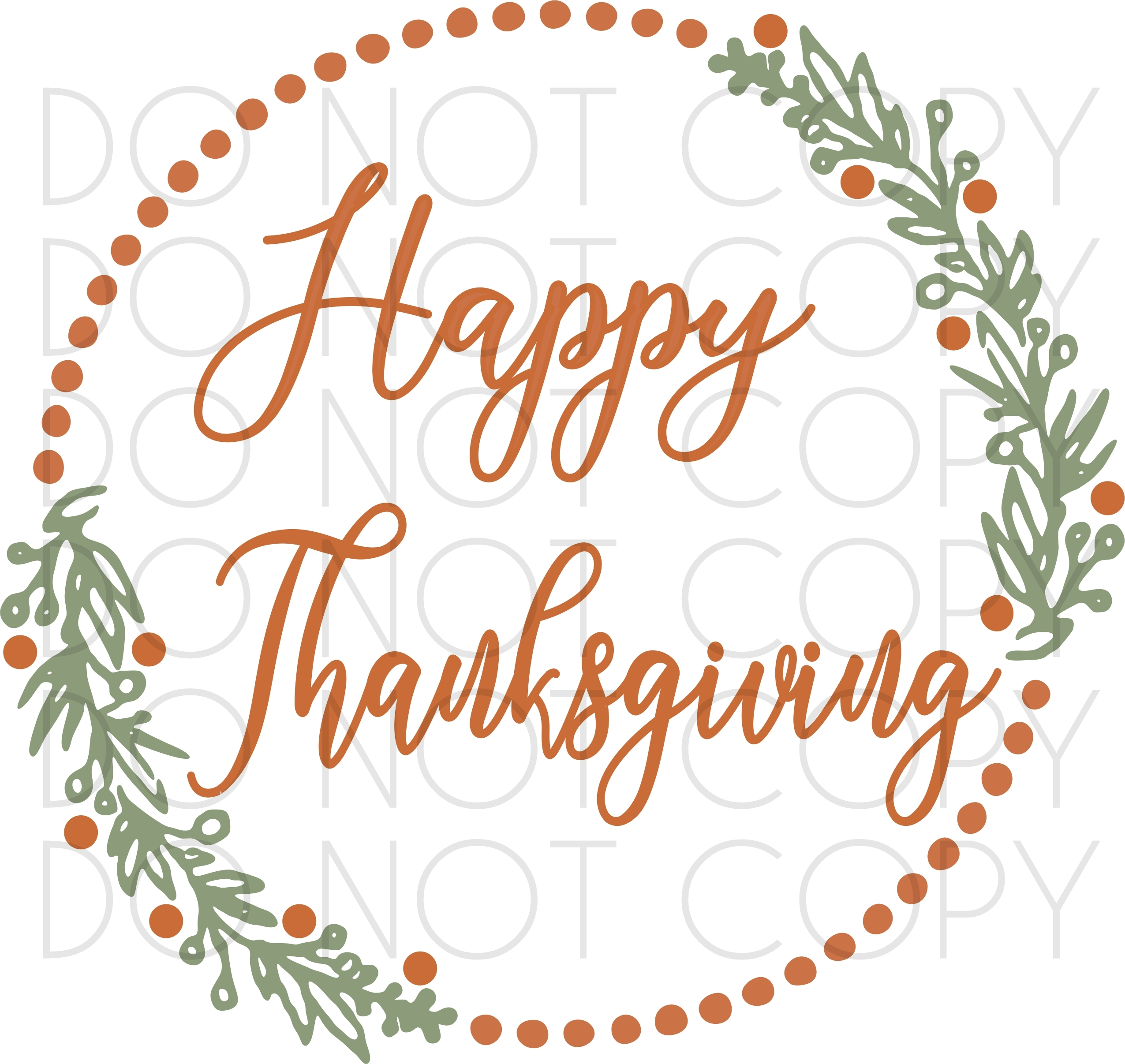 Happy Thanksgiving Wreath Svg And Cut Print Design Sewing Divine Embroidery Svg Cuttables And Digital Prints