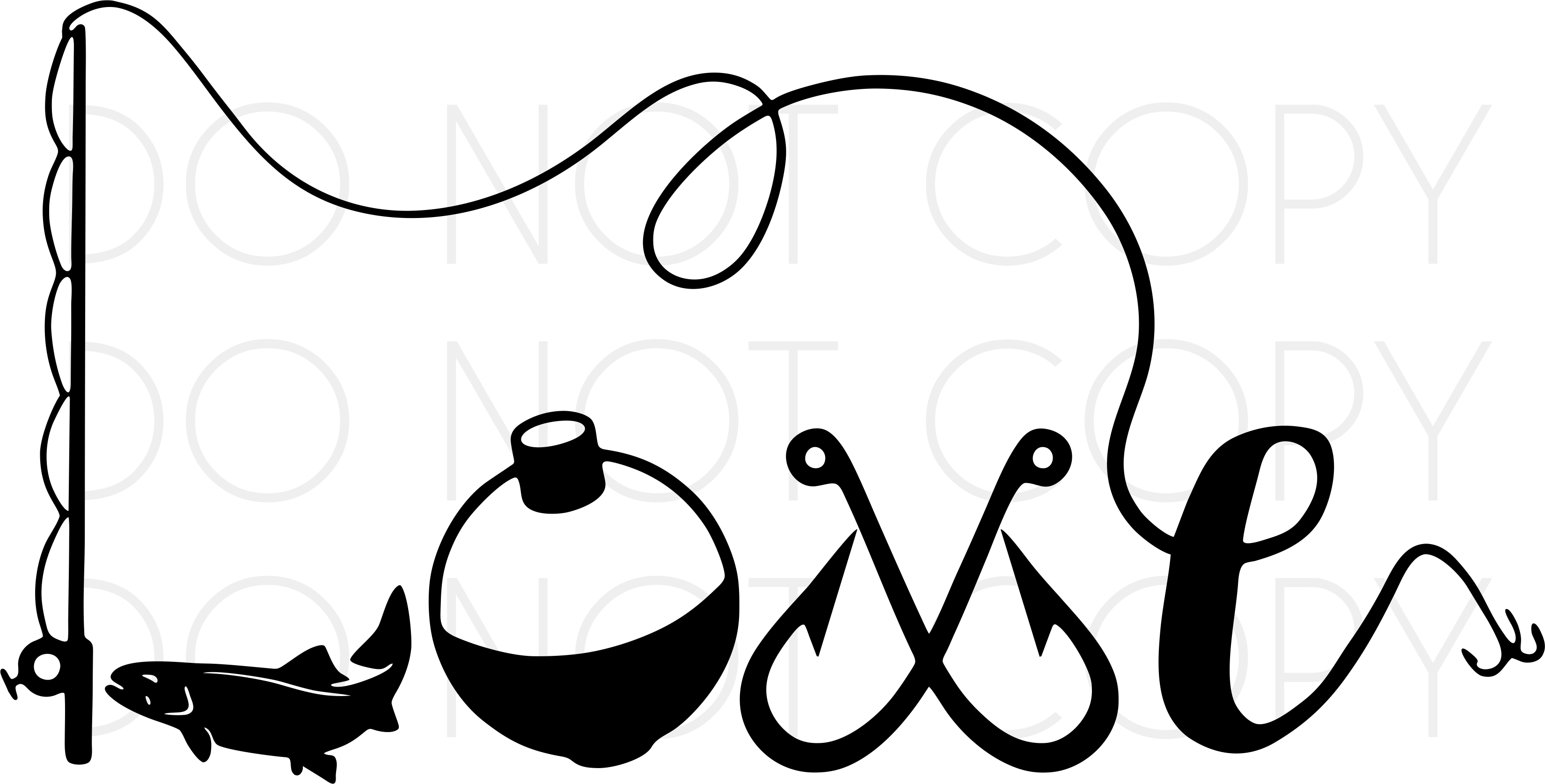 Download Fishing Love Svg Cut And Print Design Digital Download For Vinyl Cutters